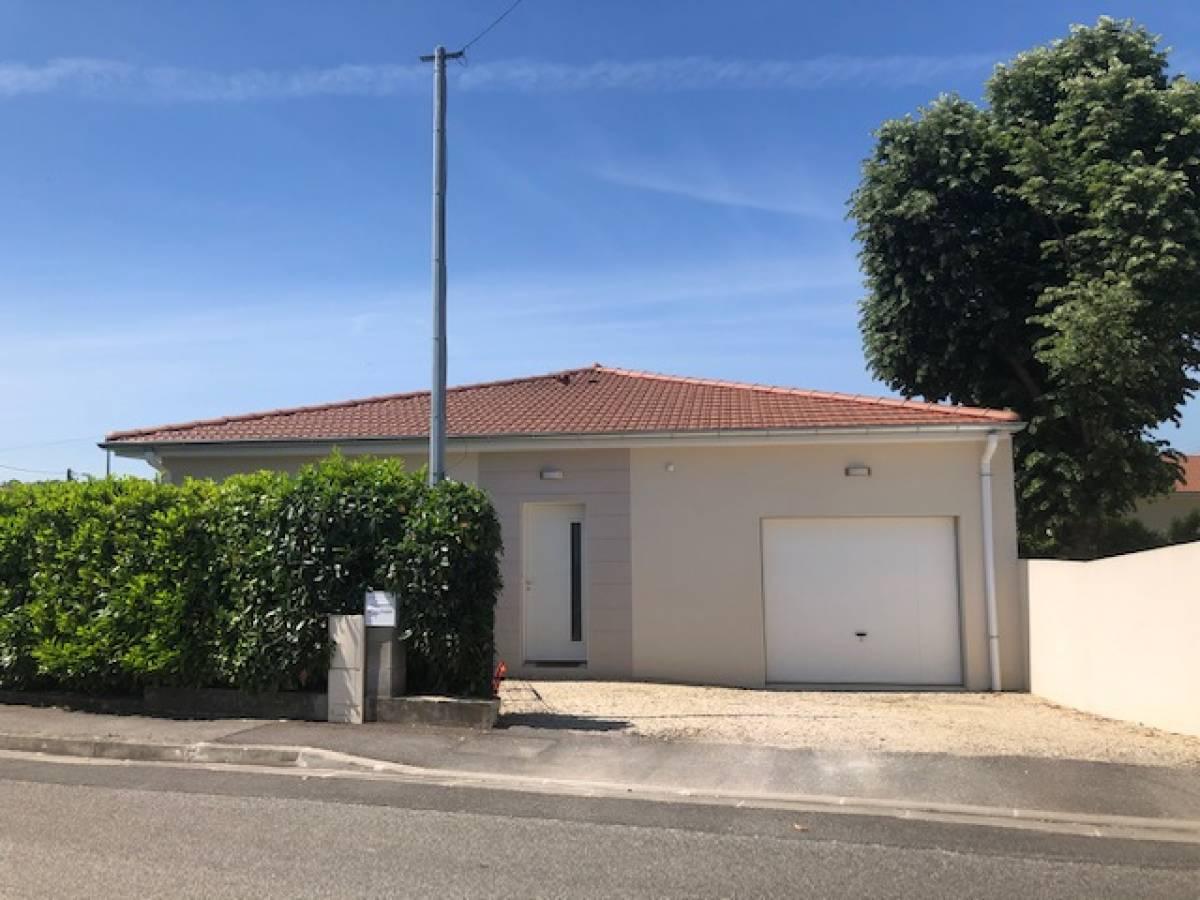 Maison de plain-pied, Bourg-lès-Valence