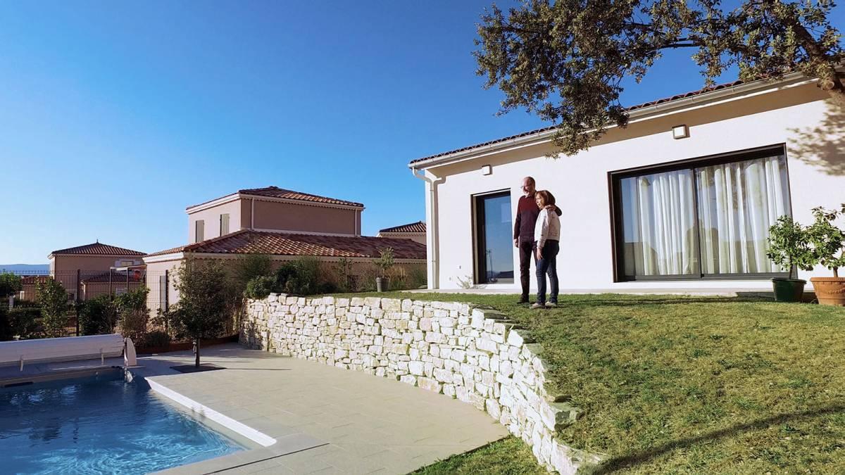 Construction d'une maison neuve contemporaine sur-mesure à Montélimar
