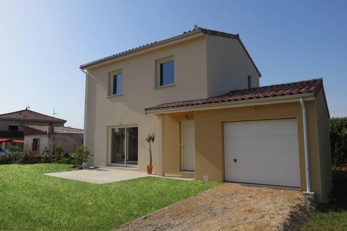 Construction de maison neuve à étage à Malissard, proche de Valence