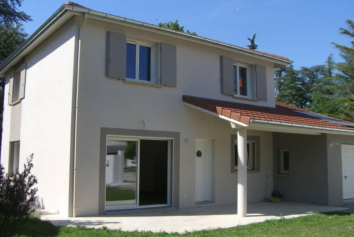 Construction d'une maison bioclimatique neuve à étage, à Valence