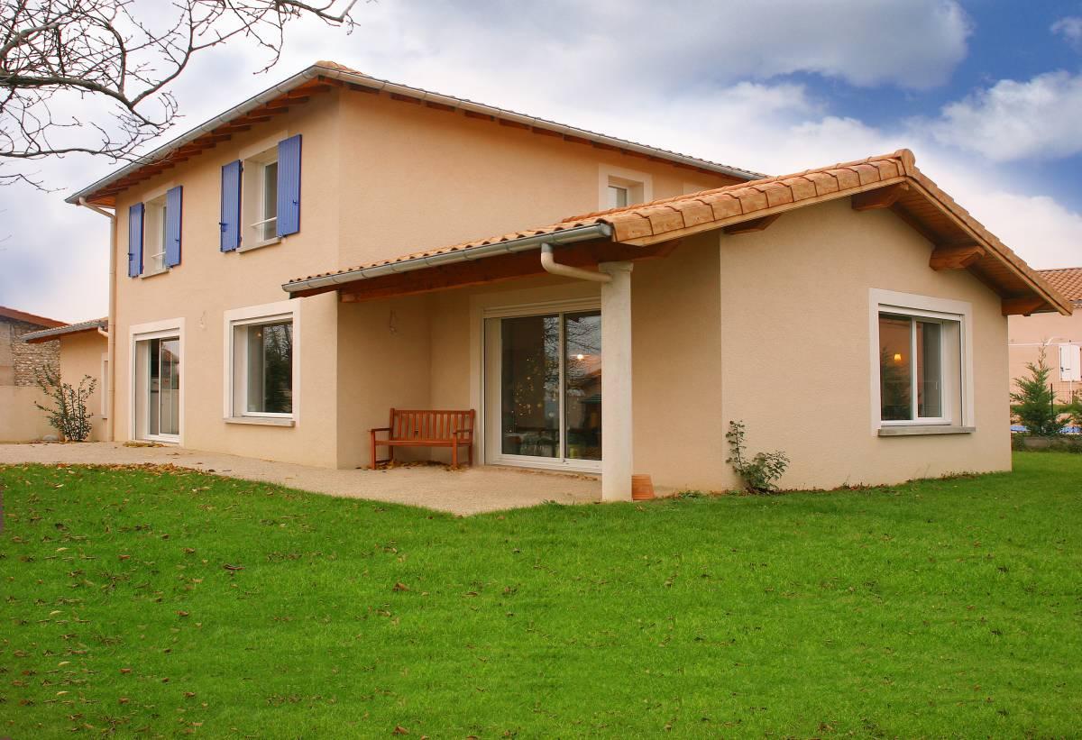 Construction de maison neuve sur-mesure à étage, à Bourg-Lès-Valence proche de Valence