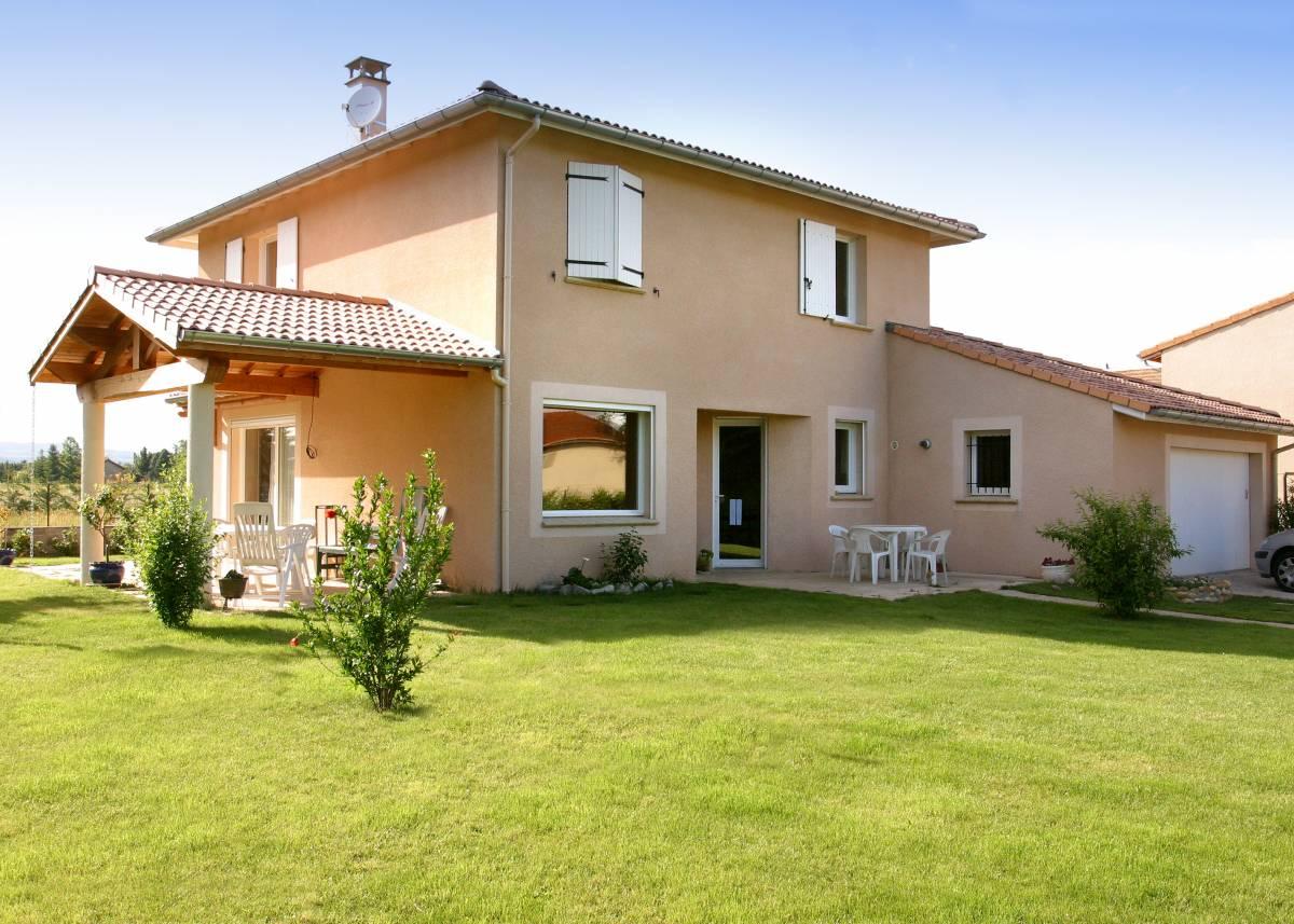 A Malissard, construction de maison neuve traditionnelle à étage, proche de Chabeuil et Valence
